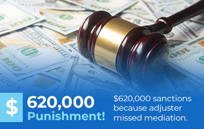 $620,000 Punishment